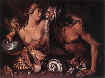 Picture Of Amphitrite And Neptune