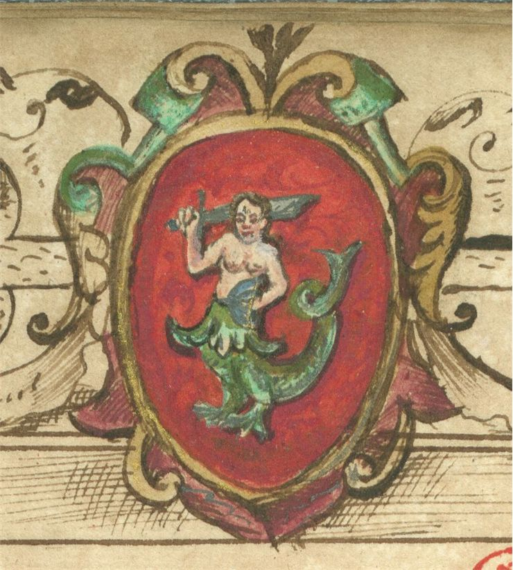 Picture Of Mermaid Of Warsaw 1599