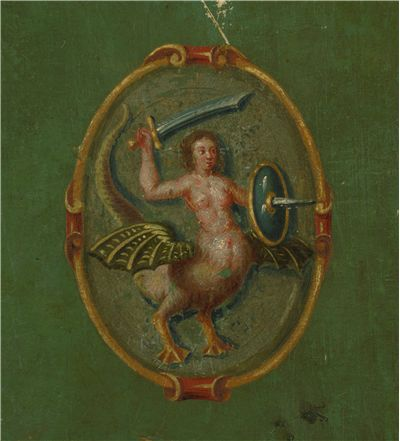 Picture Of Mermaid Of Warsaw 1652