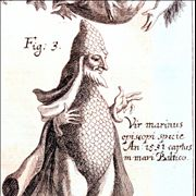 Picture Of Merman From The 17th Century