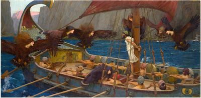 Picture Of Odysseus And The Sirens