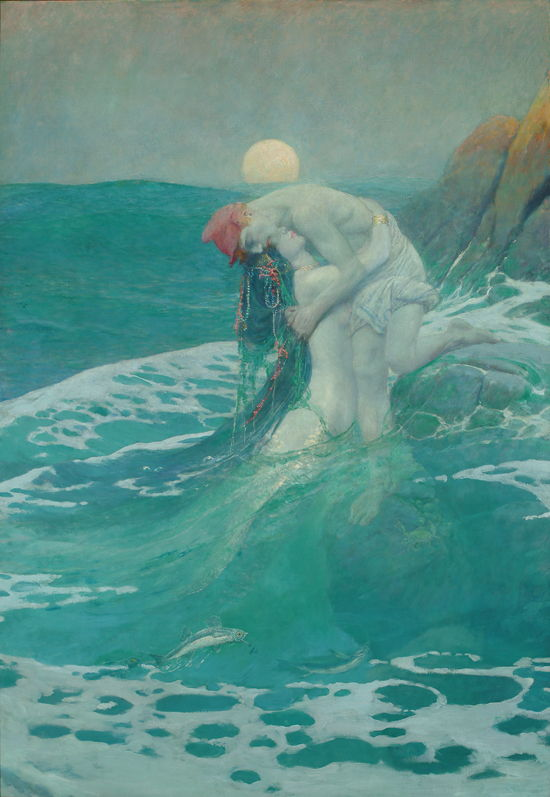 Picture Of The Mermaid By Howard Pyle 1910