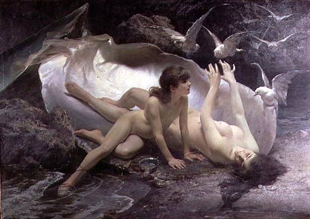 Picture Of The Naiads 1881