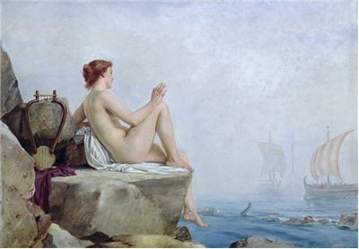 Picture Of The Siren By Edward Armitage