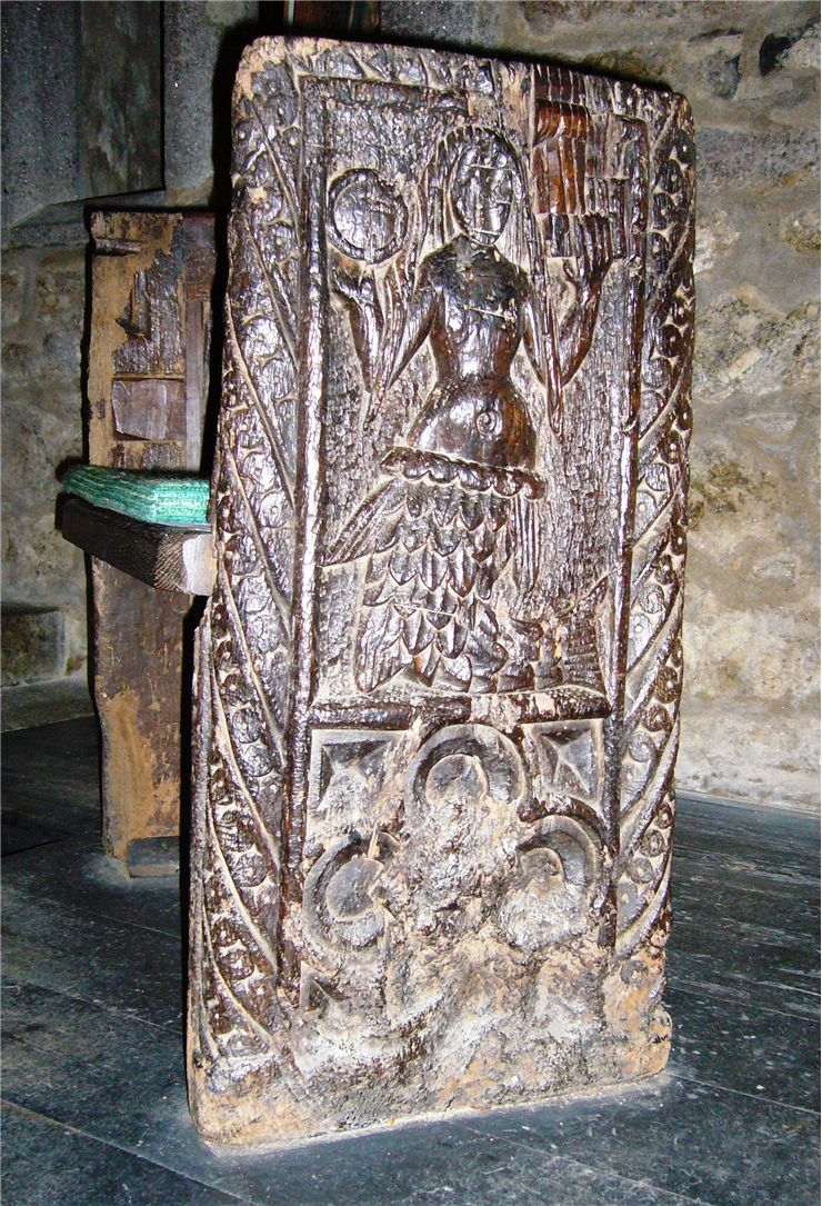 Picture Of Zennor Mermaid Chair From 16th Century